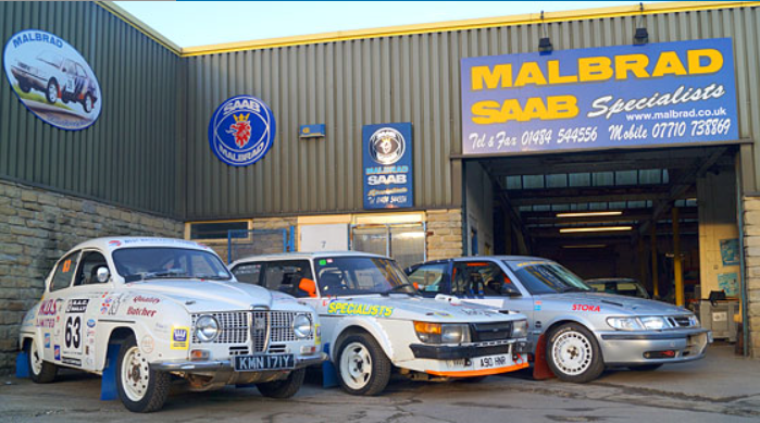 Malbrad new Saab parts