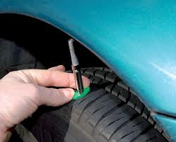 Checking Tyre Tread Depths