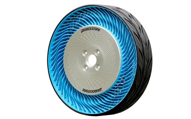 Bridgestone's airless tyre
