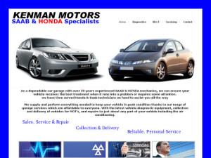 Kenman Motors Saab Logo